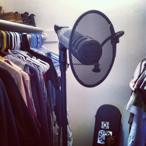 If your studio's not in your closet, you're not running a legit operation.
