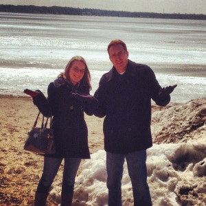 Wisconsin: where the beaches come with snow