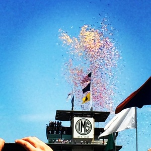 I'm on board with anything involving a traditional massive balloon release.