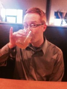 Is it beer? Is it pee? Who cares? It's in a mason jar!