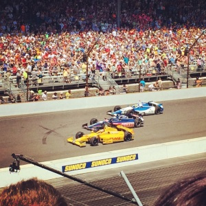 Just like I had no idea what was happening during the race, I have no idea who these cars belong to.