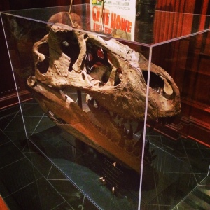 The T Rex skull is the hottest home decor trend for 2015.