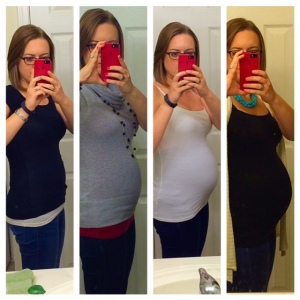 14, 17, 21, and 25 weeks